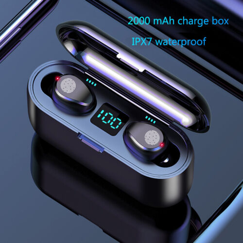 Bluetooth 5.0 Headset TWS Wireless Earphones Mini Earbuds IPX6 Stereo Headphones <br/> Latest V5.0✔1-2 days Delivery✔ Best Quality✔9000+ Sold✔