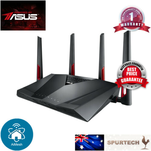 ASUS RT-AC88U AC3100 Dual Band Wireless Router Smart WIFI AIMESH