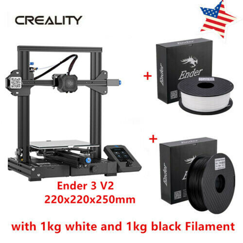 Newest Creality Ender 3 Pro 3D Printer 220X220X250mm 2019 Global Promotion