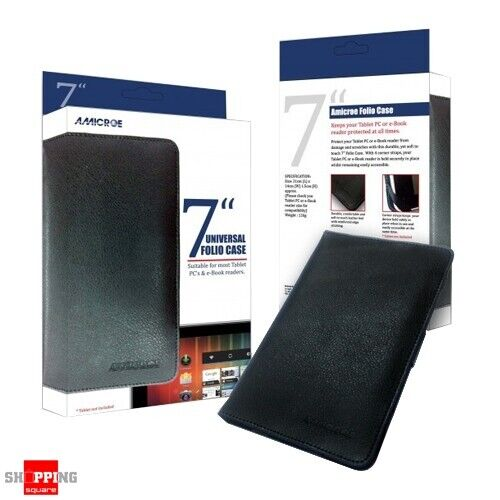 """Amicroe Universal Folio Case 7"""" AMI-TT2LC Protect from damage and scratches"""