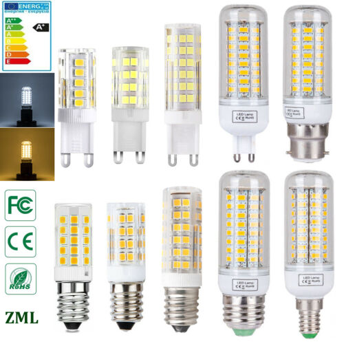 E27 E14 B22 G9 LED Maïs Ampoule 5W 8W 15W 20W 25W SMD5730 Blanc Chaud/Froid 220V
