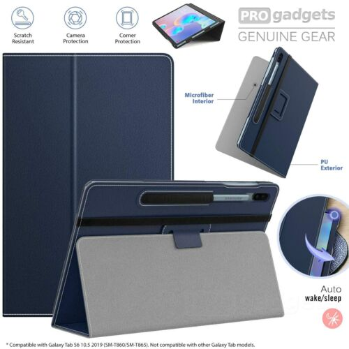 Genuine MoKo Leather Folio Stand Cover for Samsung Galaxy Tab S6 10.5 T860/865