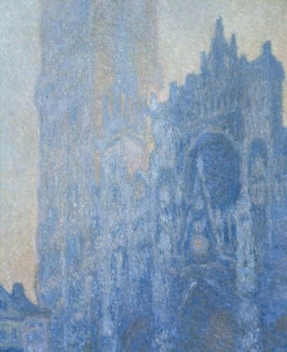 Rouen Cathedral Claude Monet CANVAS Art Print Home Wall Decoration Small 8x10
