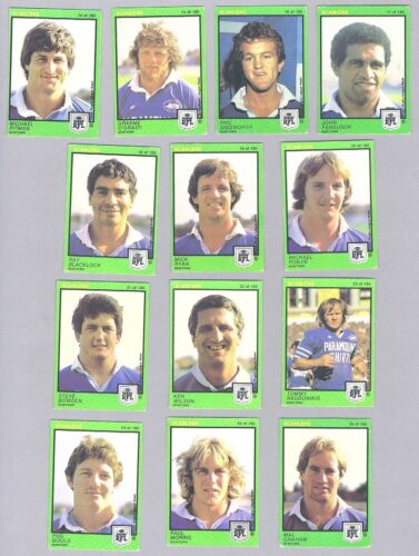 #d410.  1982  Newtown Jets  Scanlens Rugby League Cards