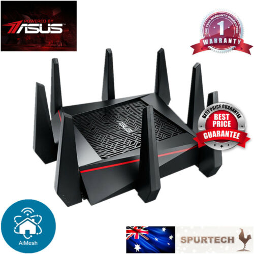Asus RT-AC5300 Tri-Band Wireless Gigabit Gaming Router MU-MIMO SMART WIFI AIMESH