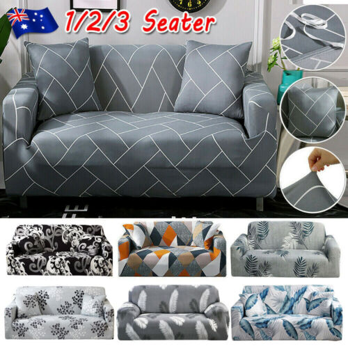 High Stretch Sofa Cover Couch Lounge Protector Slipcovers 1 /2 /3 Seater Covers