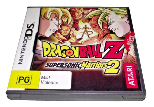 Dragon Ball Z Supersonic Warriors 2 Nintendo DS 2DS 3DS Game *No Manual*
