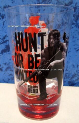 The Walking Dead Daryl Hunt Tumbler Cup Plastic Just Funky AMC Pint Norman