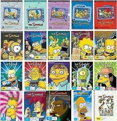 The Simpsons Ultimate Collection Season 1-20 1-17 1-18 1-19 20 DVD Sets + Movie