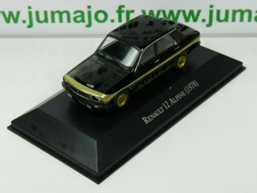 ARG43B Voiture 1/43 SALVAT Autos Inolvidables : Renault 12 Alpine 1978