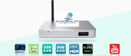 Zoomtak H8 Android 4k Media Player 4K - 2Gb Ram - Free P&P in Ireland