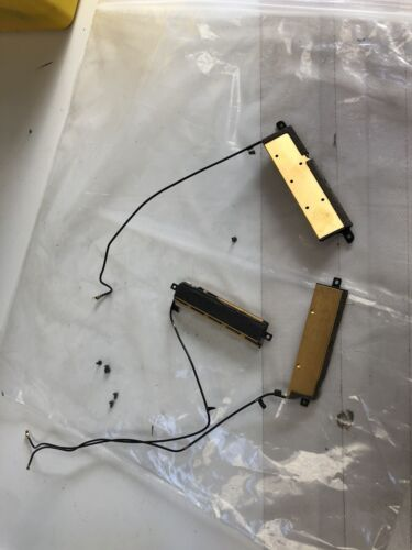 """Apple iMAC 27"""" A1419 2012 2013 WiFi Antenna Set w/ Cable and Screws Top & Side"""