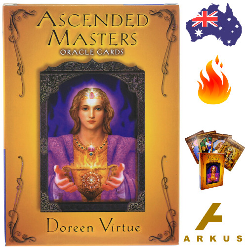 ASCENDED MASTERS Oracle Cards - 44 Card Deck by Doreen Virtue NEW