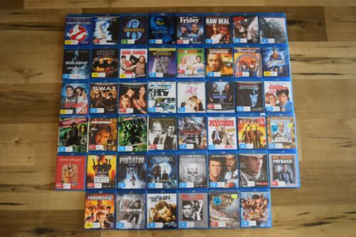 Blu-ray DVD Movies Assorted New & Used 1080p Free Postage