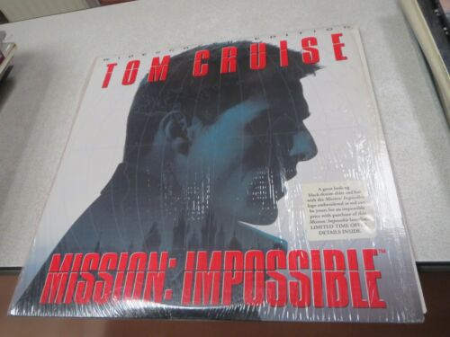 LASERDISC TOM CRUISE MISSION IMPOSSIBLE WIDESCREEN EDITION