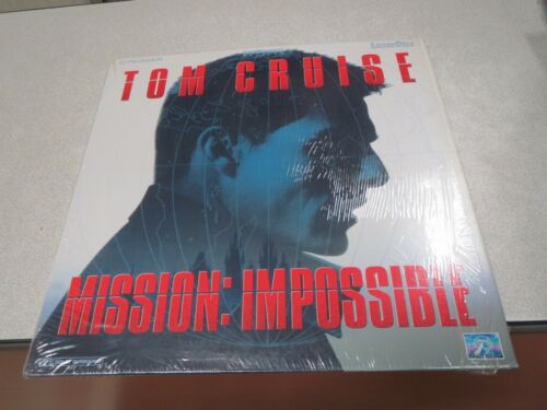LASERDISC MISSION IMPOSSIBLE TOM CRUISE