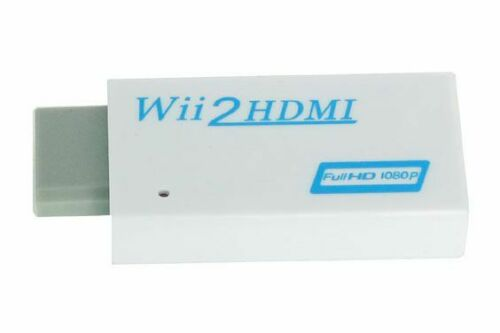 Wii to HDMI Converter for Nintendo Wii console 1080p HD 3.5mm audio | ZedLabz