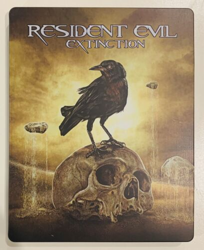 RESIDENT EVIL EXTINCTION STEELBOOK BLURAY LIMITED EDITION NEW ULTRA RARE