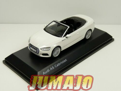 AUD7 voiture 1/43 SPARK : Audi A5 Cabriolet Tofana White