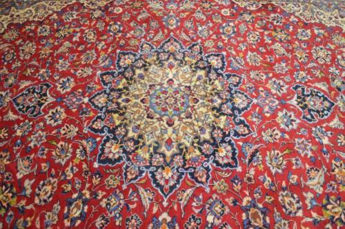 9'6 x 12'10 Fine Semi Antique Hand Knotted Wool Area Rug Oriental Carpet 10 x 13