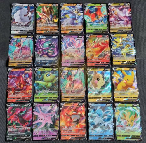 50 Pokemon Cards Ultimate Pack 1 V/V Max ULTRA RARE 9 Rares/shiny FAST DISPATCH <br/> Aussie Owned | Genuine | Free Tracking AusPost | Fun