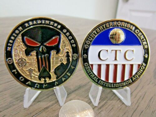 Counterterroism Center Mission Readiness Punisher CIA CT CTC Challenge CoinChallenge Coins - 74710