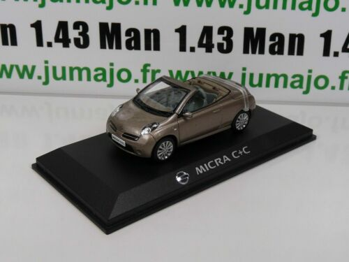 NI3G VOITURE 1/43 J collection : NISSAN MICRA C + C