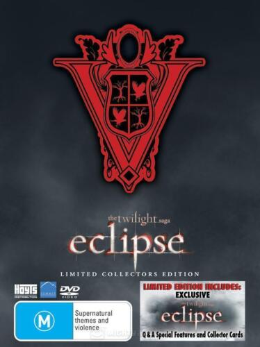 The Twilight Saga: Eclipse - Limited Collectors Edition (DVD, 2010) NEW 3 Discs
