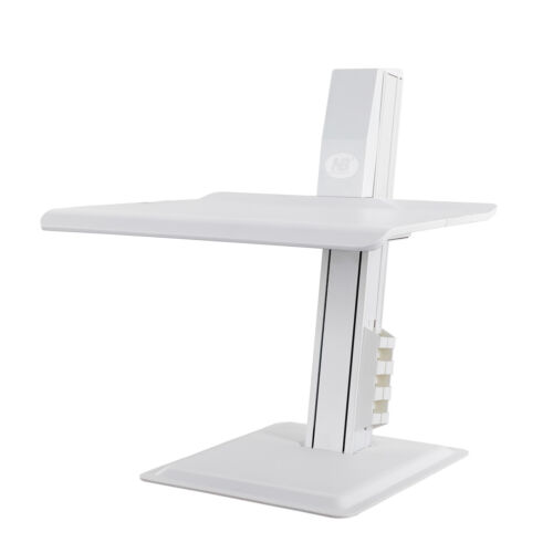 NB New Product Sit Stand Notebook Riser BT15 2kg to 11kg keyboard tray - White
