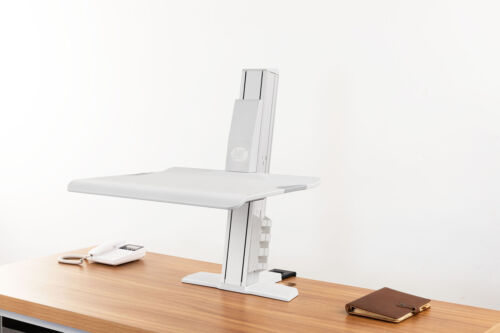 NB New Product Sit Stand Notebook Riser BT25 2-11kg clamp on - White