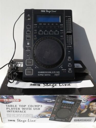 IMG STAGE LINE CD-80USB LETTORE CD PER DJ