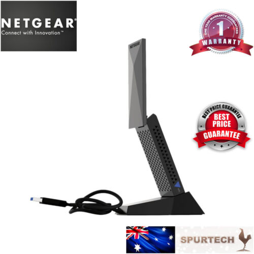 Brand New Netgear A7000 AC1900 USB 3.0 Dual Band 1900Mbps WiFi Dongle Adapter