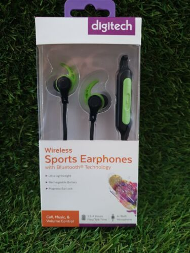 Wireless Sports Earphones with Bluetooth® Technology NEW Old Stock