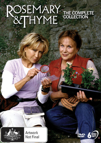 Rosemary & Thyme Complete Series Collection DVD New PREORDER Region 4