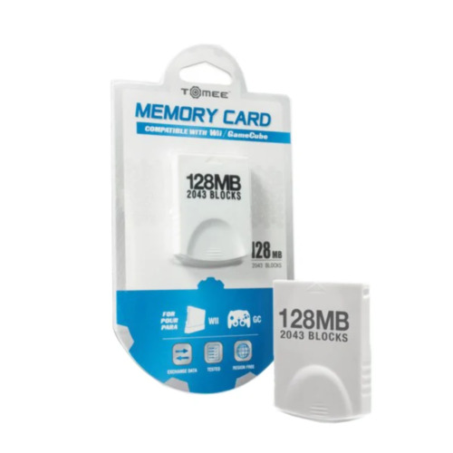 Tomee 128mb Memory Card for Gamecube & Wii NEW