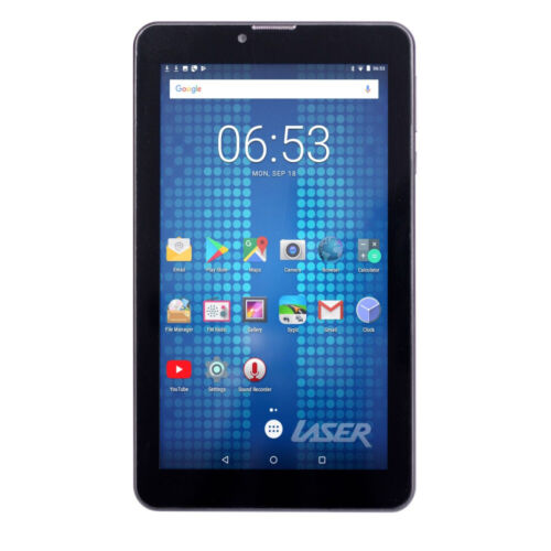 """Laser 7"""" eTouch 8GB Quad Core Android 9 Tablet Bluetooth WiFi w/Camera/Micro SD"""