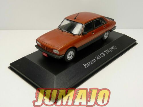 AQV10J Voiture 1/43 SALVAT Inolvidables 80/90: PEUGEOT 504 GR TN 1985