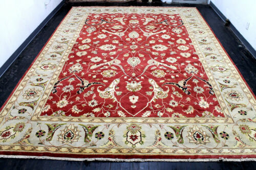 10X14 ONE IN A MILLION NEW 400KPSI HQ HAND KNOTTED WOOL PAK TABRIZZ ORIENTAL RUG