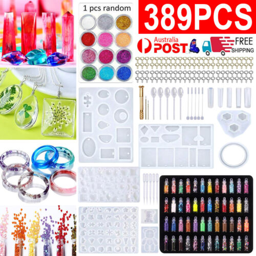 289X DIY Jewelry Mould Handmade Crystal Glue Making Set Resin Silicone Mold Kit