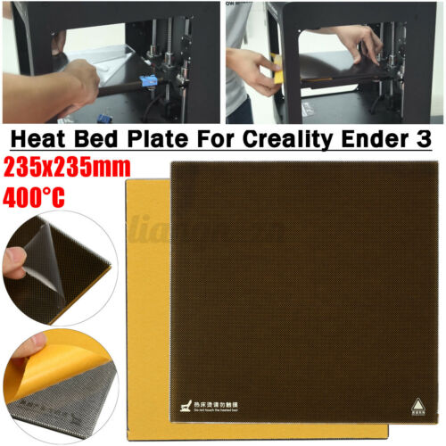 For Creality 3D Ender-3 3D Printer Borosilicate Durable Glass Heat Bed Plate OZ