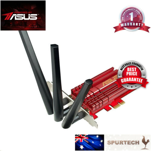ASUS PCE-AC68 AC1900 Dual Band PCI-Express WIFI Adapter Network Card OEM