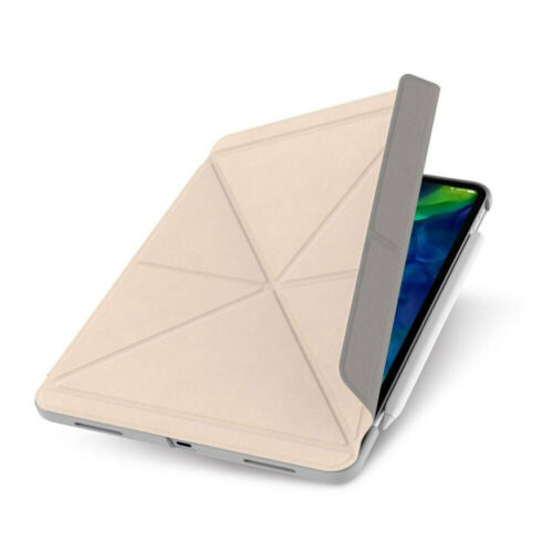 """Moshi Versacover Case Folding Cover/Stand 11"""" For Apple iPad Pro/2nd Gen Beige"""
