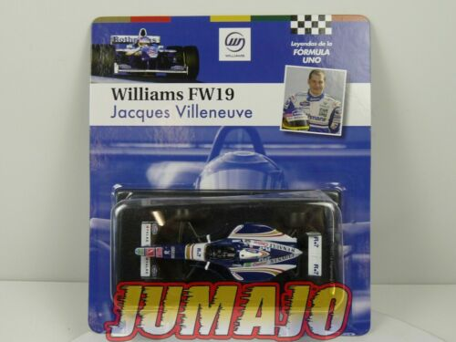 FOR6 voiture SOL90 1/43 F1 Formule 1 : Williams FW19 1997 Jacques Villneuve