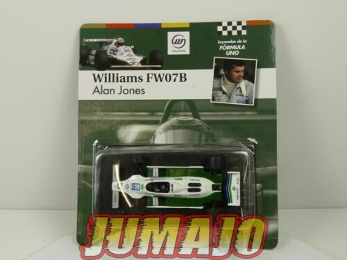 FOR3 voiture SOL90 1/43 F1 Formule 1 : Williams FW07B 1980 Alain Jones
