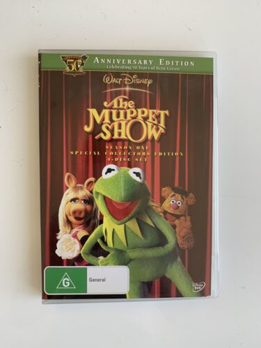 Near New The Muppet Show Season 1 Special Collectors Edition 4 Disc DVD Set PAL