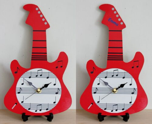Guitar Wall or Mantle Clock - Can be Personalised