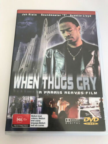 DVD R4 Movie Film - B-Movie WHEN THUGS CRY Parris Reeves