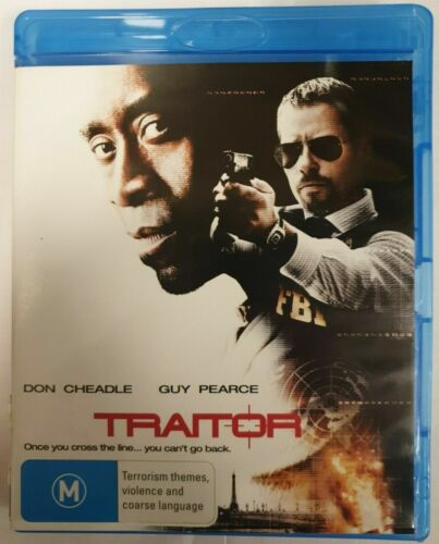 Traitor Don Cheadle Guy Pearce Blu Ray Bluray Disc Movie