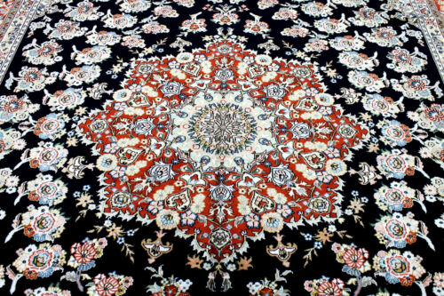10X14 INCREDIBLE MASTERPIECE NEW 300+KPSI HAND KNOTTED SILK TABRIZZ ORIENTAL RUG