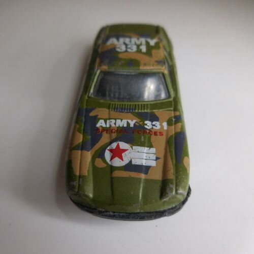 Voiture militaire miniature camouflage ARMY 331 SPECIAL FORCES vintage  N6294